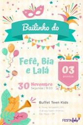 Convite De Aniversário Modelos Incríveis Festalab