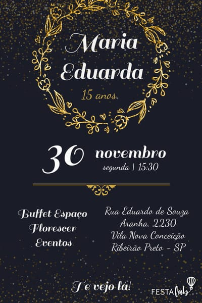 Convite De Aniversário Adulto Modelos Incríveis Festalab