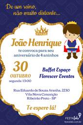 Convite Realeza