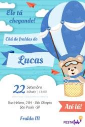 Convite De Chá De Bebê Modelos Incríveis Festalab
