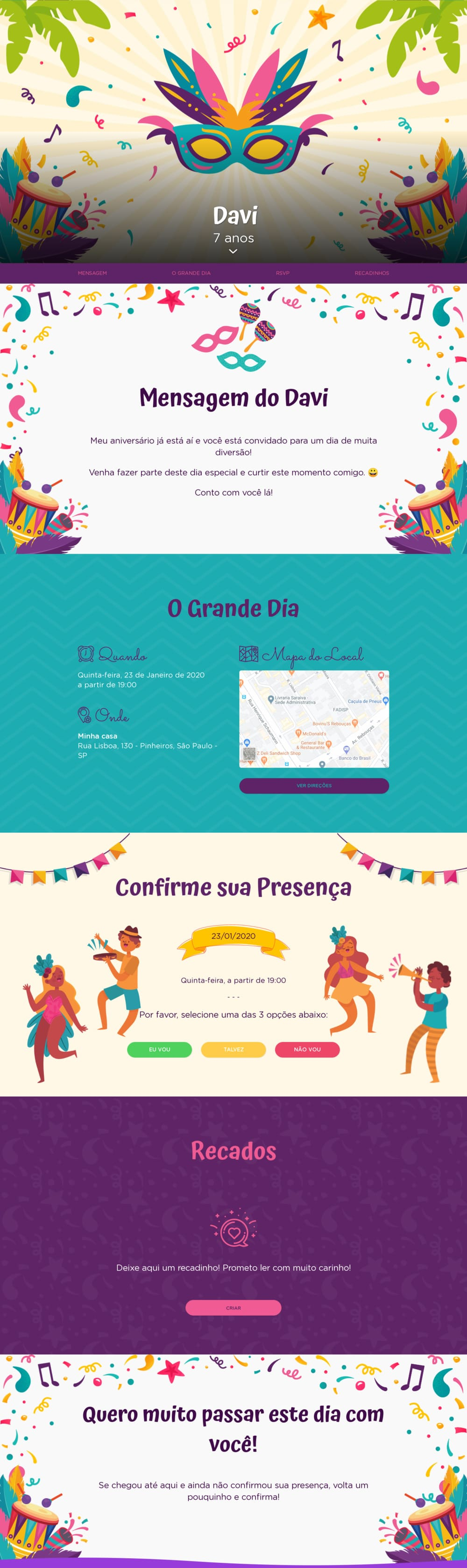 Vibe de Aniversario - Carnaval