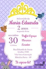 Convite Princesa Sofia Festalab