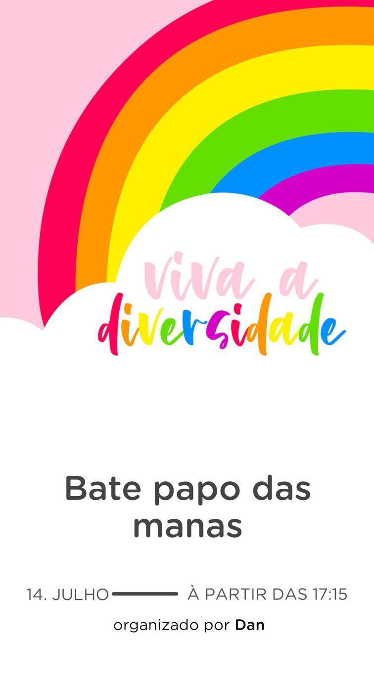 Website comemorativo - Arco Iris