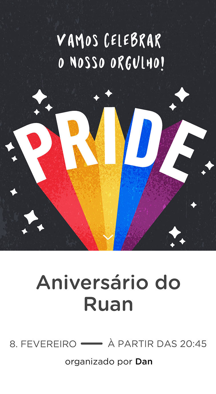 Website comemorativo - Pride Day