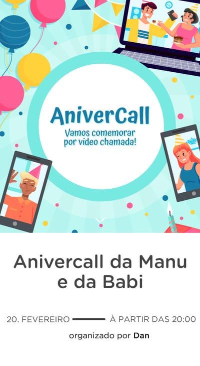 Modelo de convite - Anivercall